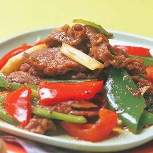 豉椒炒牛肉