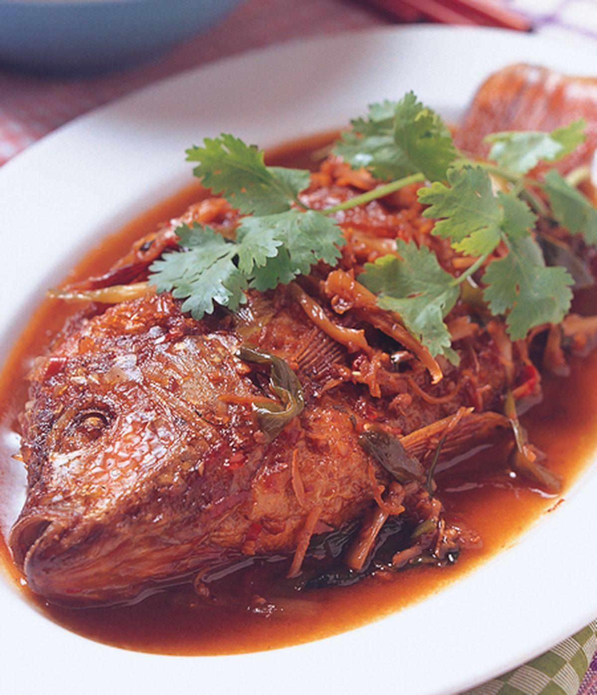 食譜:香辣紅燒魚
