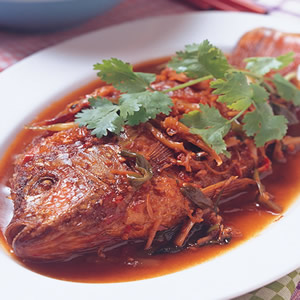 香辣紅燒魚