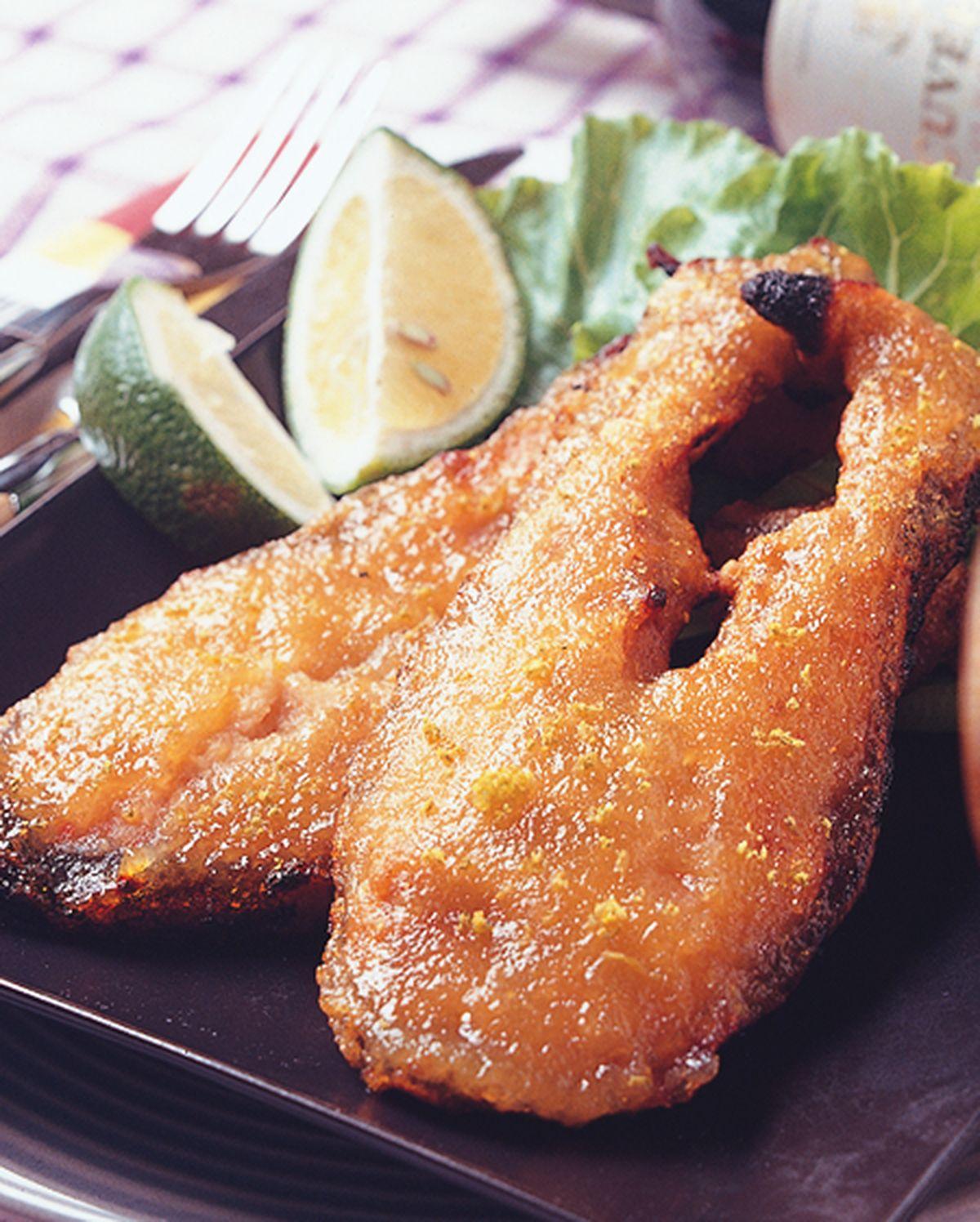 食譜:烤鮭魚排
