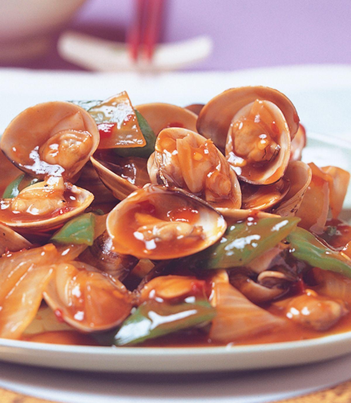 食譜:五味炒蛤蜊