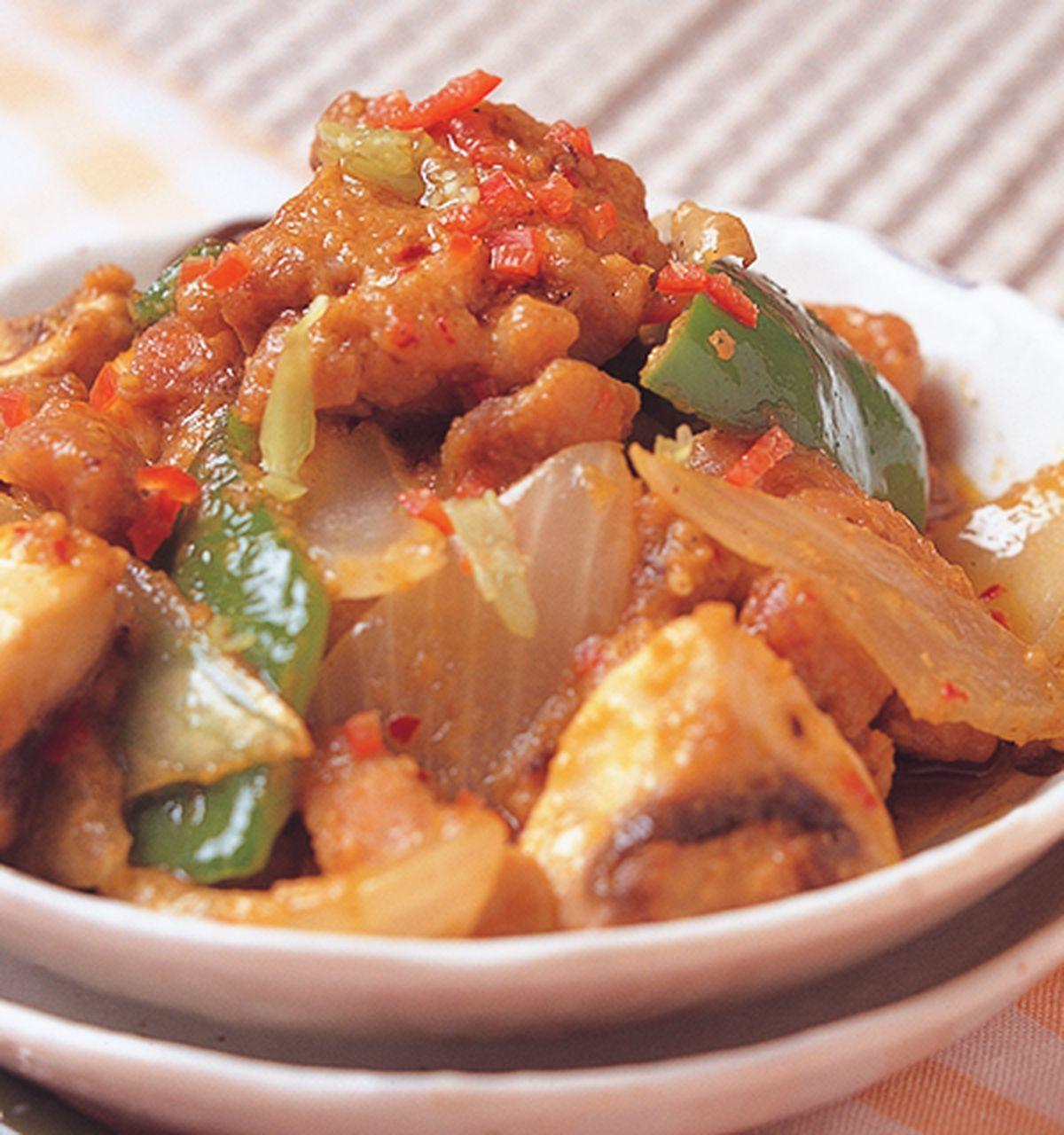 食譜:沙嗲炒雞肉