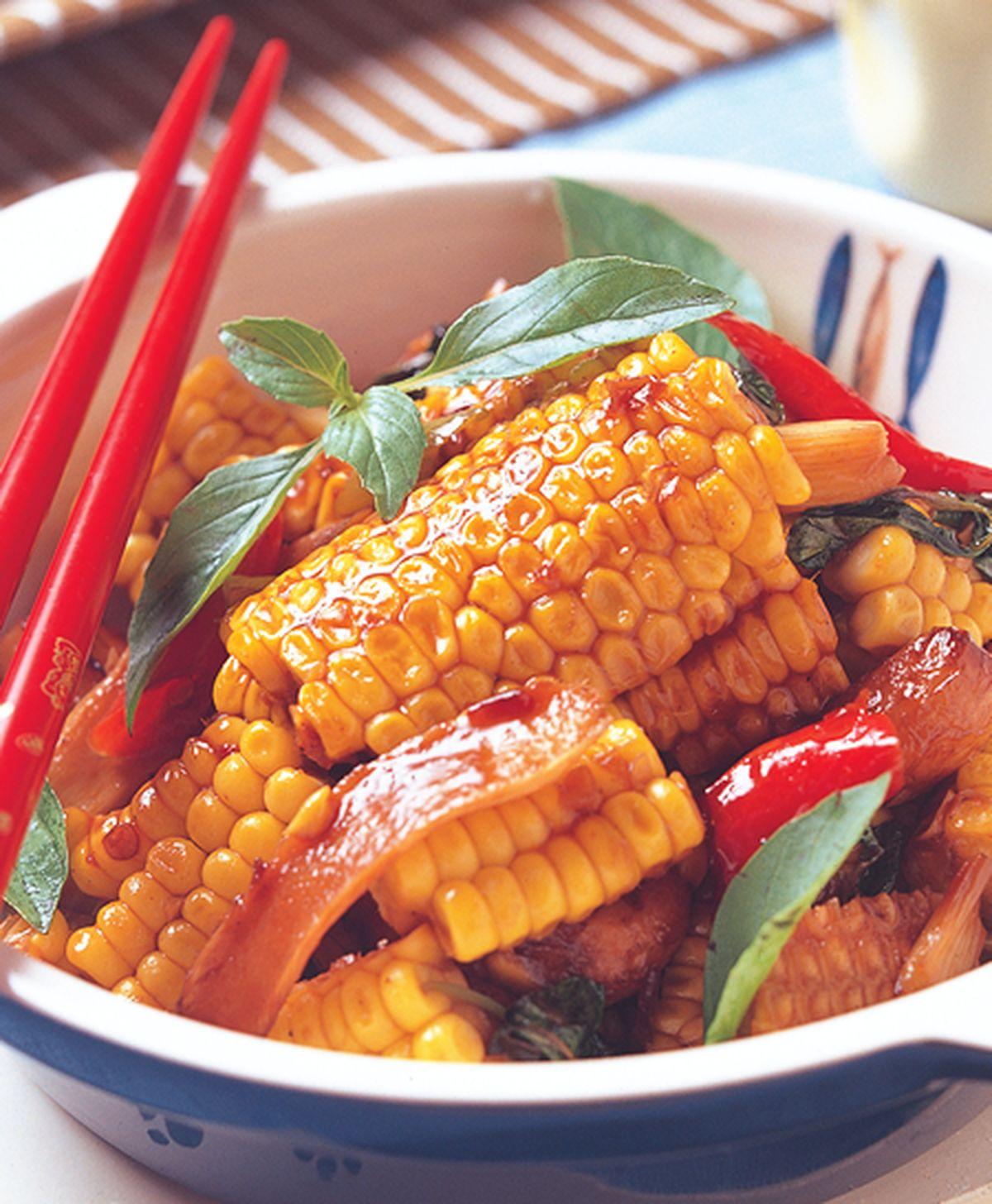 食譜:三杯玉米