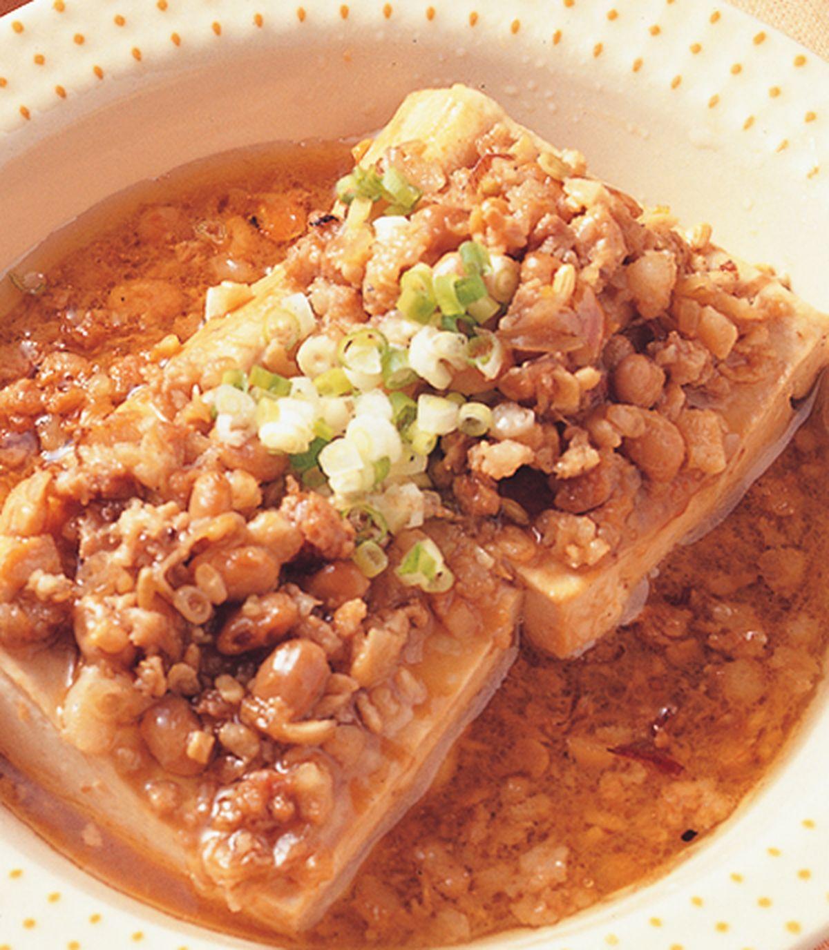 食譜:肉燥燉豆腐
