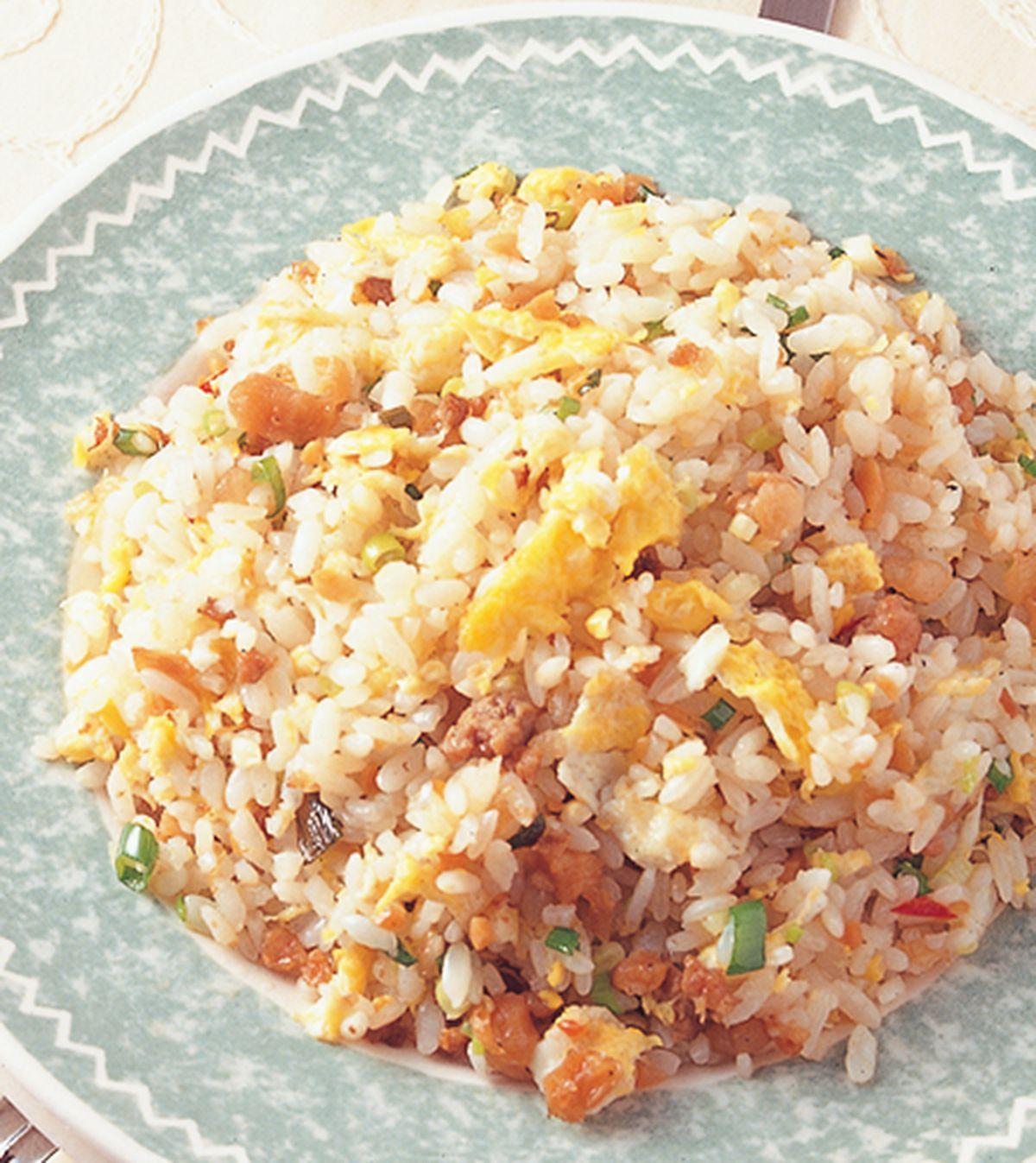 食譜:蘿蔔乾肉燥炒飯