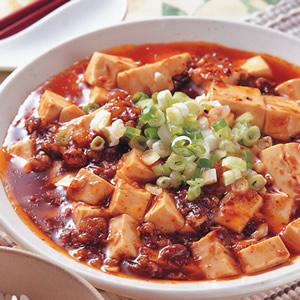 辣肉燥燒豆腐