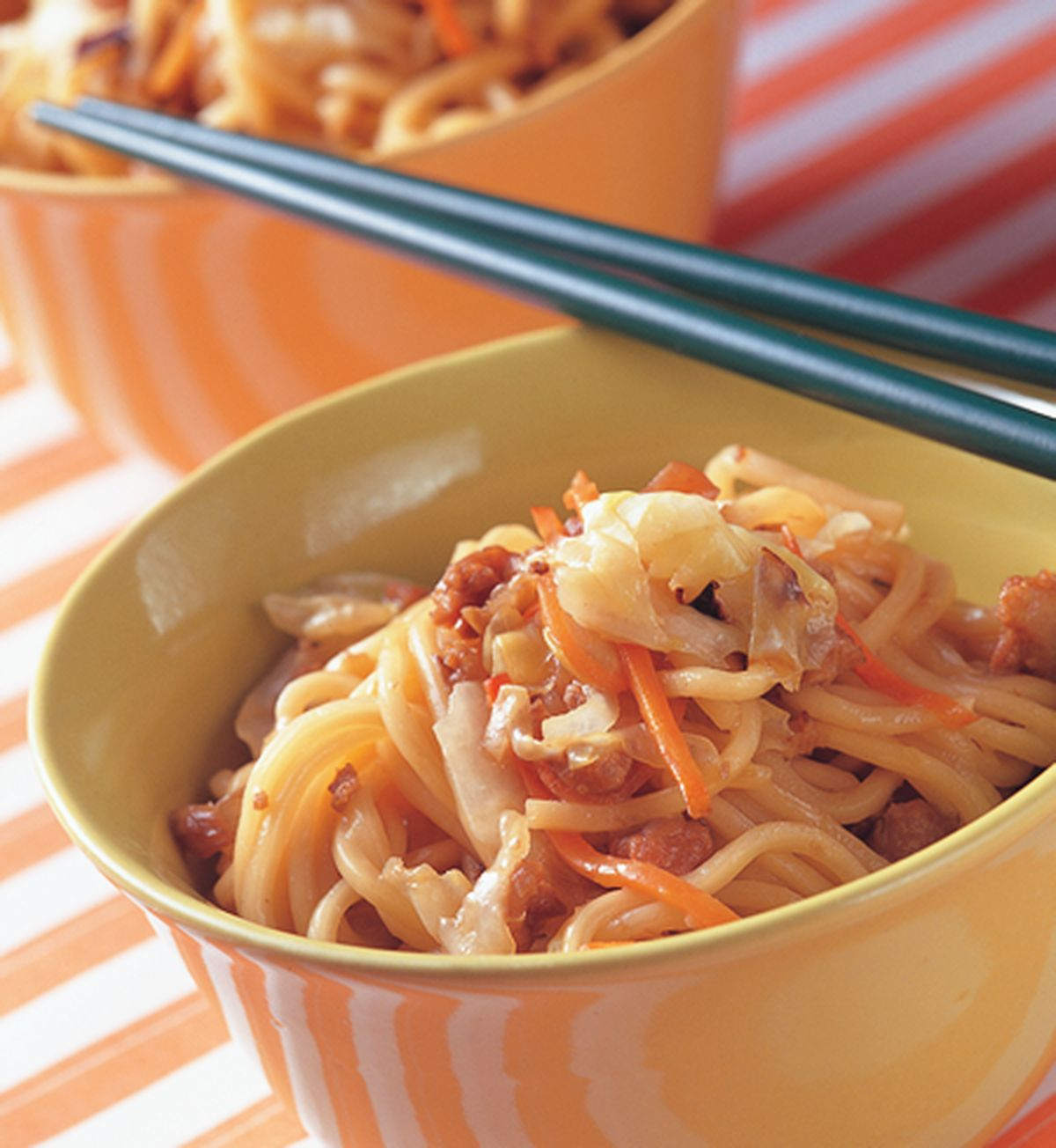 食譜:蔥燒炒麵