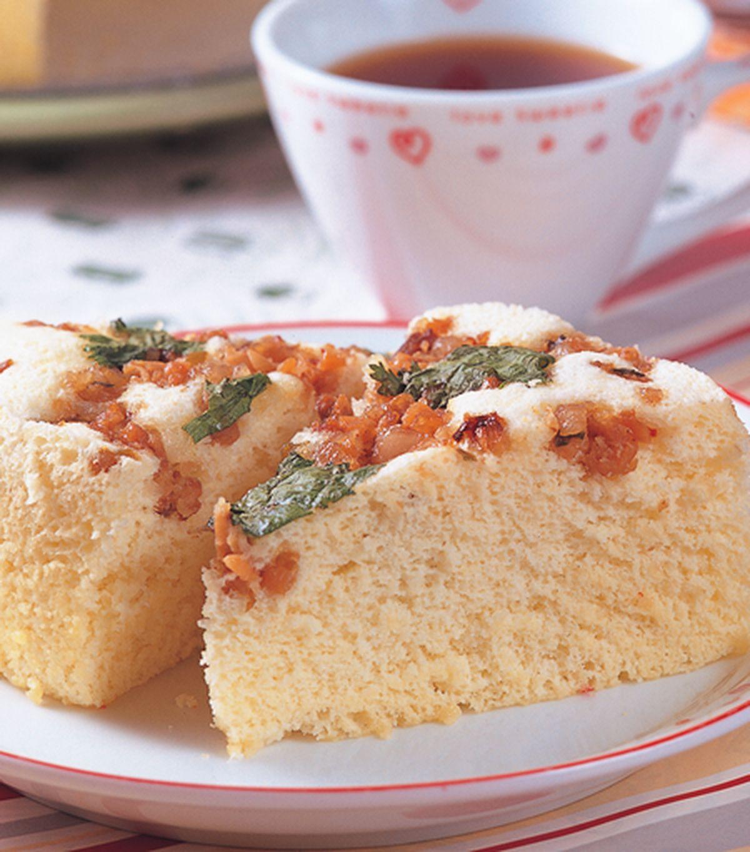 食譜:蒸鹹蛋糕