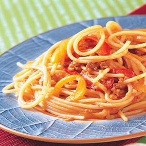 肉燥義大利麵