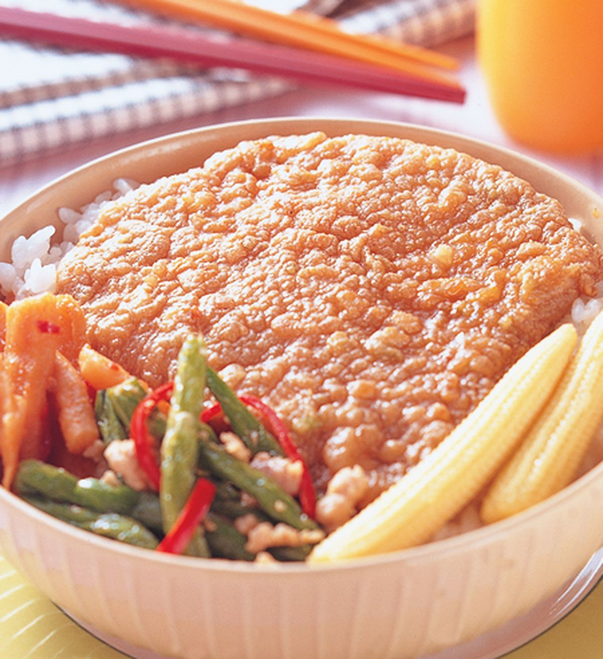 食譜:香酥豬排飯