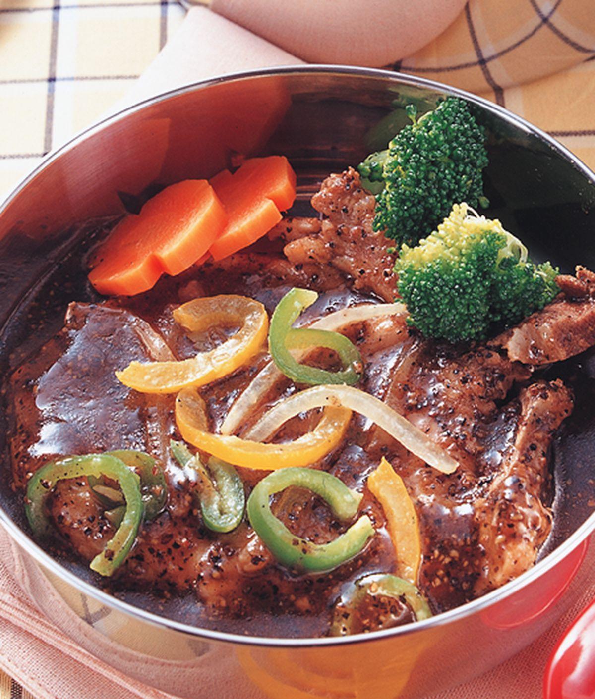 食譜:黑胡椒豬排