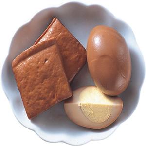 滷蛋、滷豆干