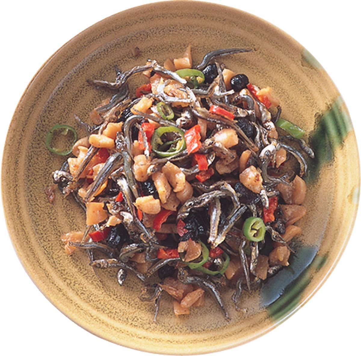 食譜:豆鼓菜脯丁香