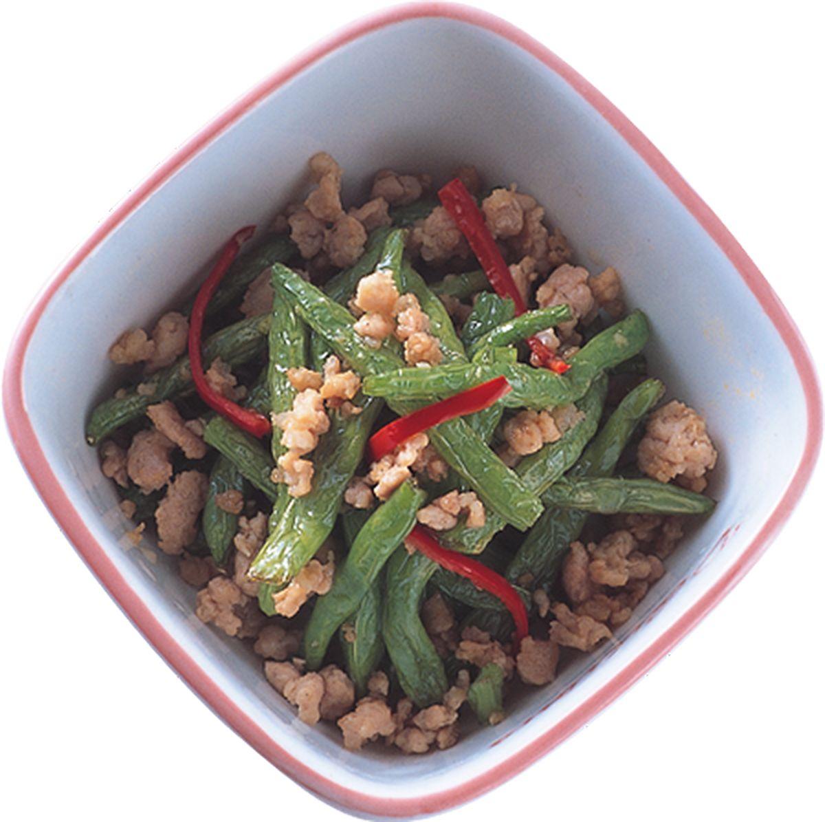 食譜:干扁四季豆