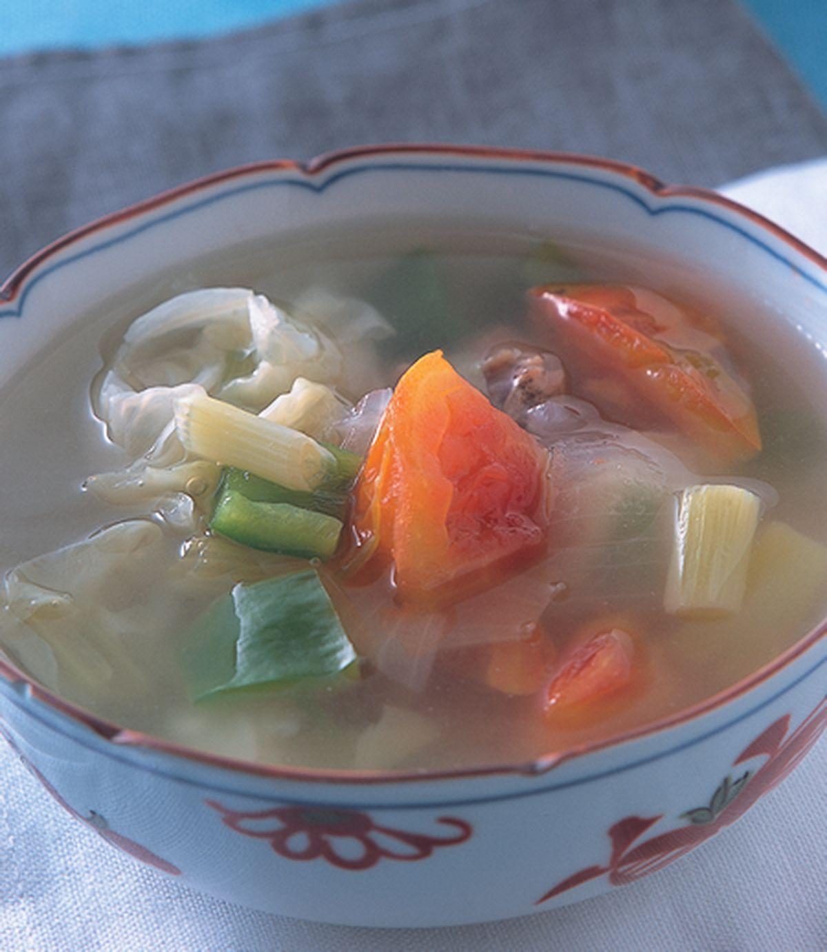 食譜:什錦蔬菜瘦身湯