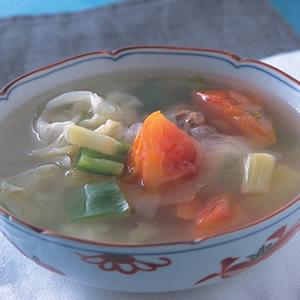 什錦蔬菜瘦身湯