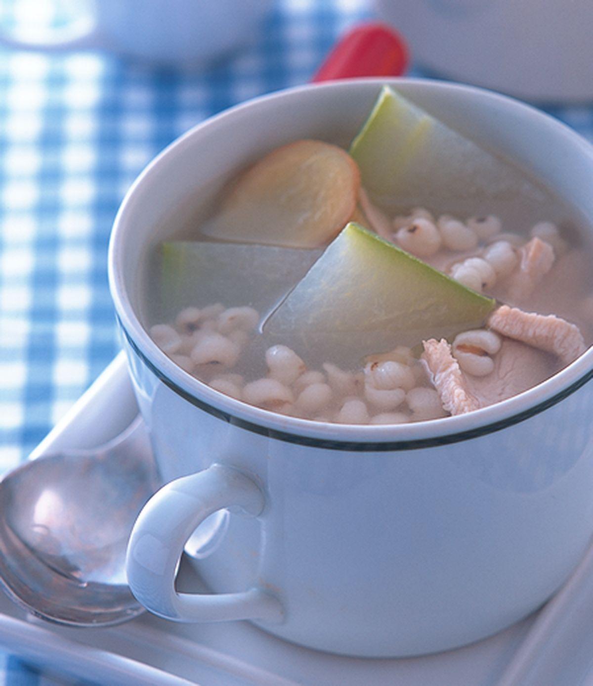 食譜:冬瓜薏仁瘦肉湯