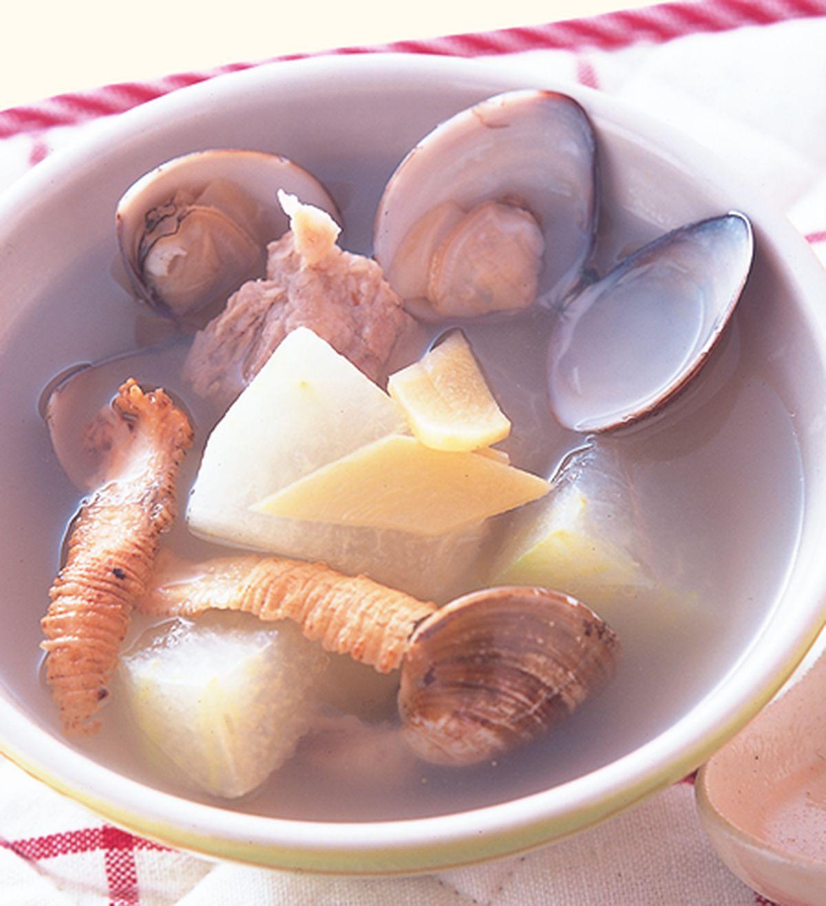 食譜:蛤蜊冬瓜排骨湯
