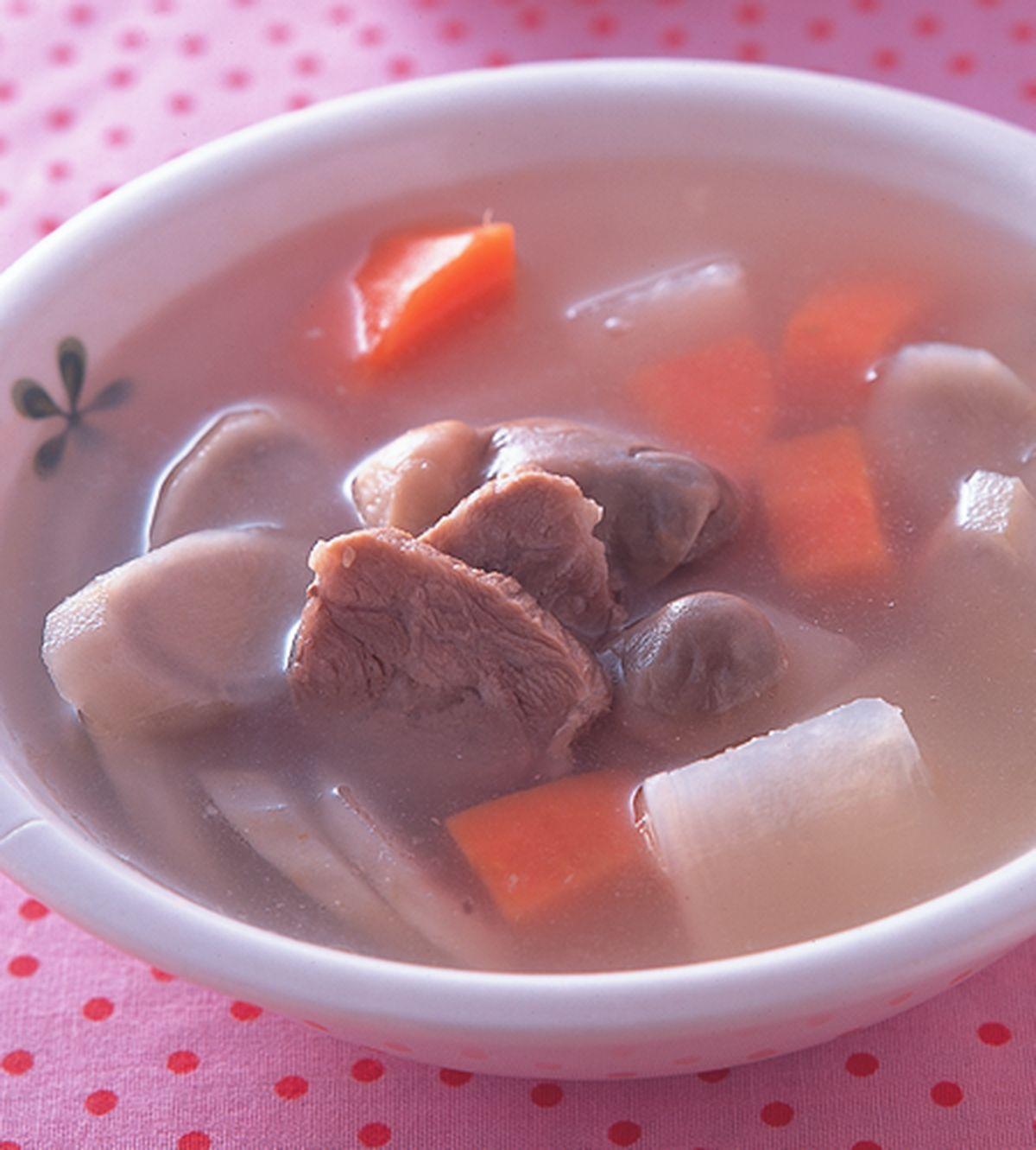 食譜:牛蒡蘿蔔煲瘦肉