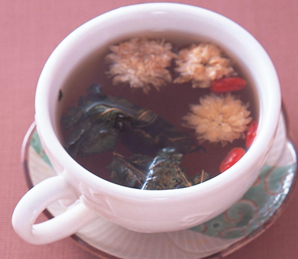 食譜:枸杞菊花茶