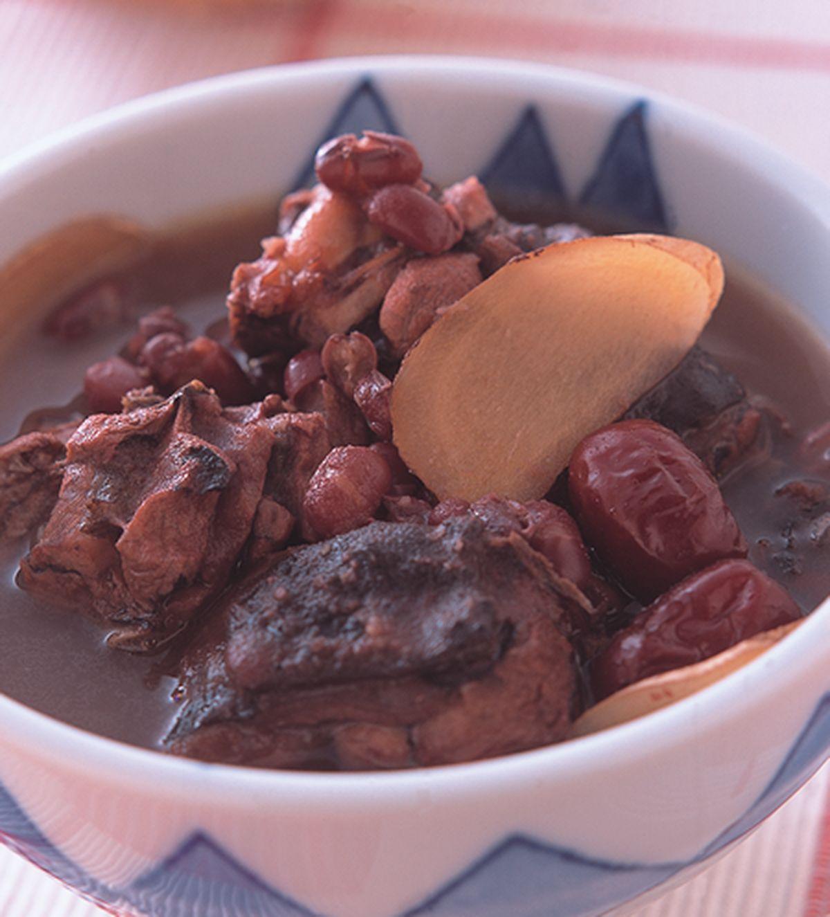 食譜:紅豆烏骨雞湯