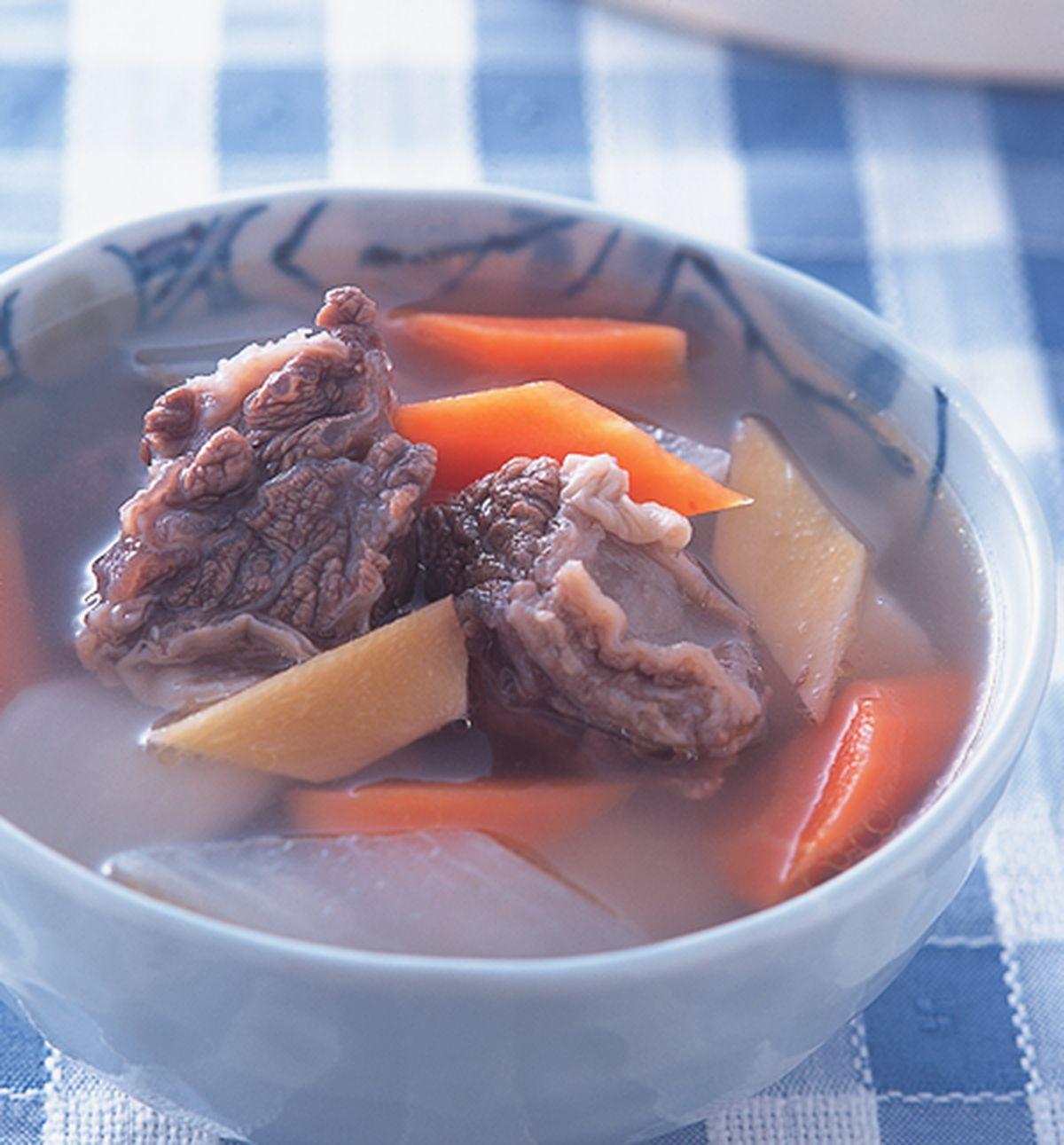 食譜:紅白蘿蔔煲牛腩