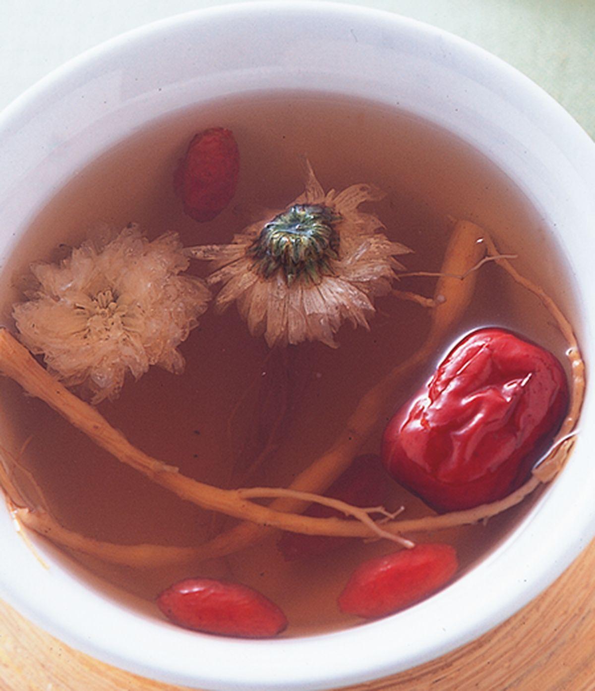 食譜:參鬚紅棗茶