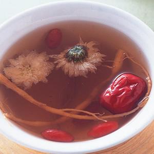 參鬚紅棗茶