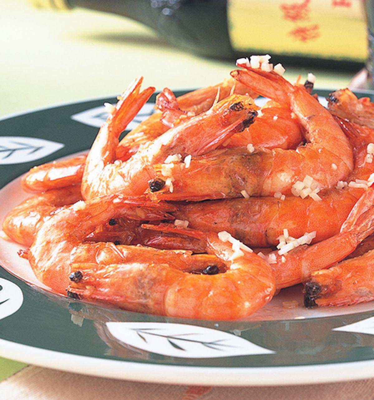 食譜:油爆蝦