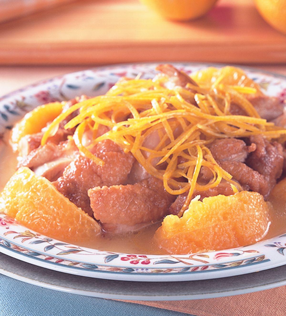 食譜:橙汁雞排