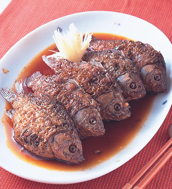 食譜:酸甜燉鯽魚
