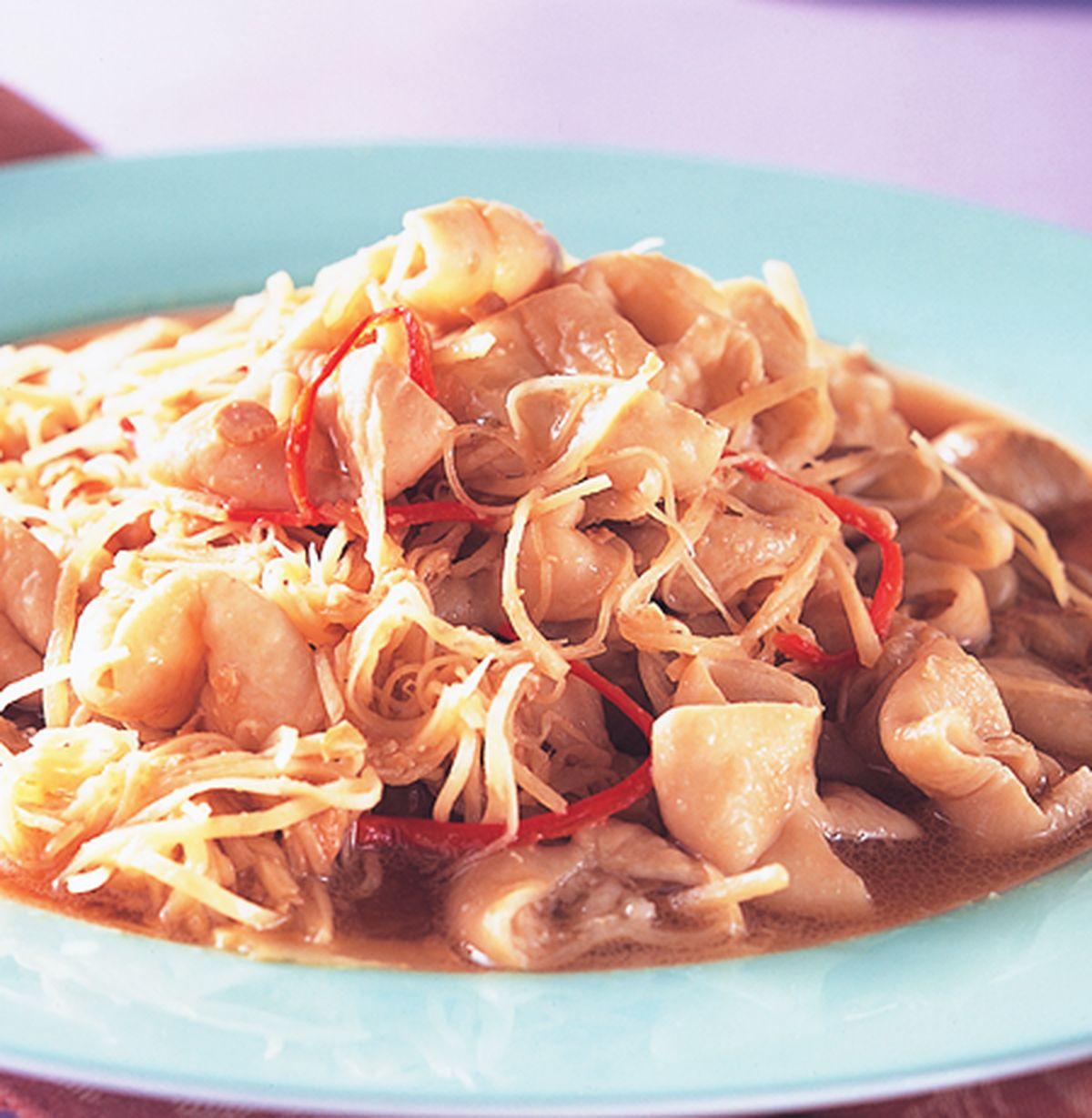 食譜:薑絲大腸(2)