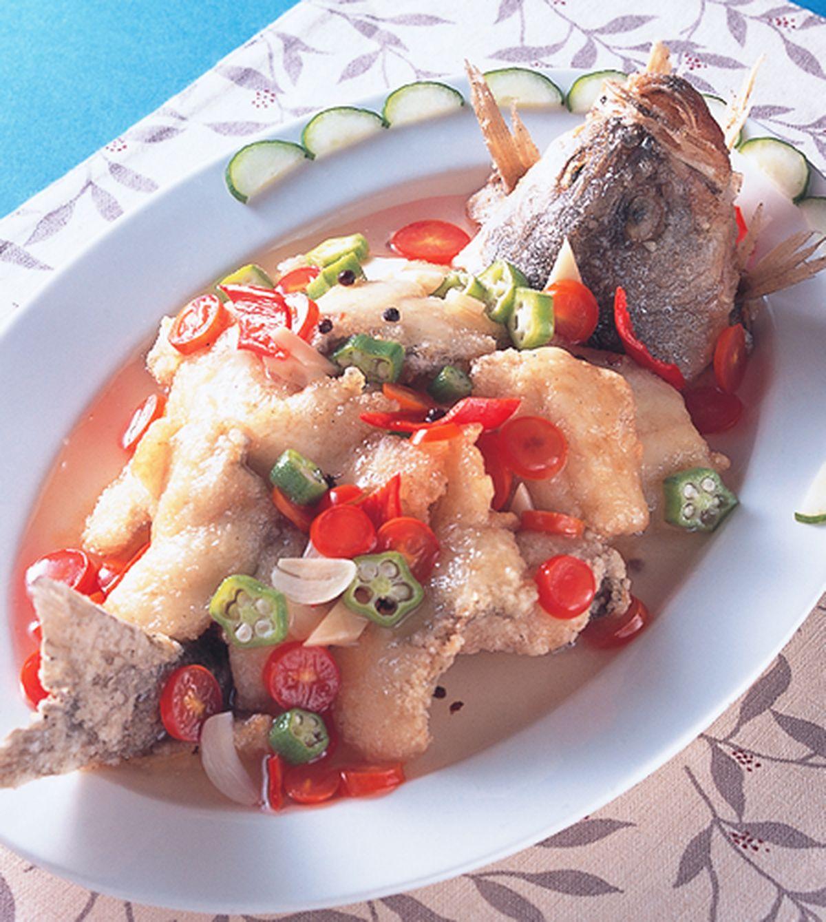 食譜:椒麻魚片