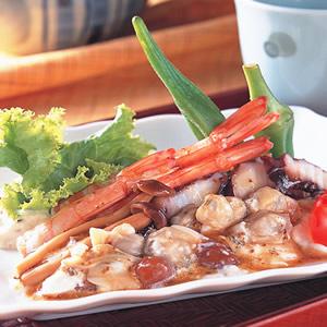 珍菇醋拌海鮮