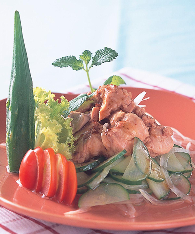 食譜:鱈魚肝拌醋