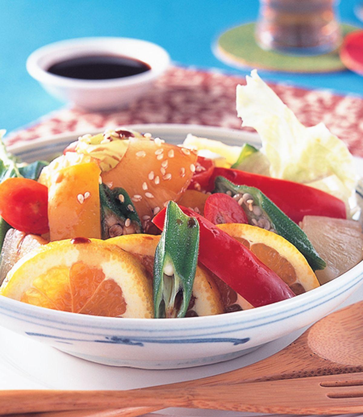 食譜:醋拌蔬果沙拉