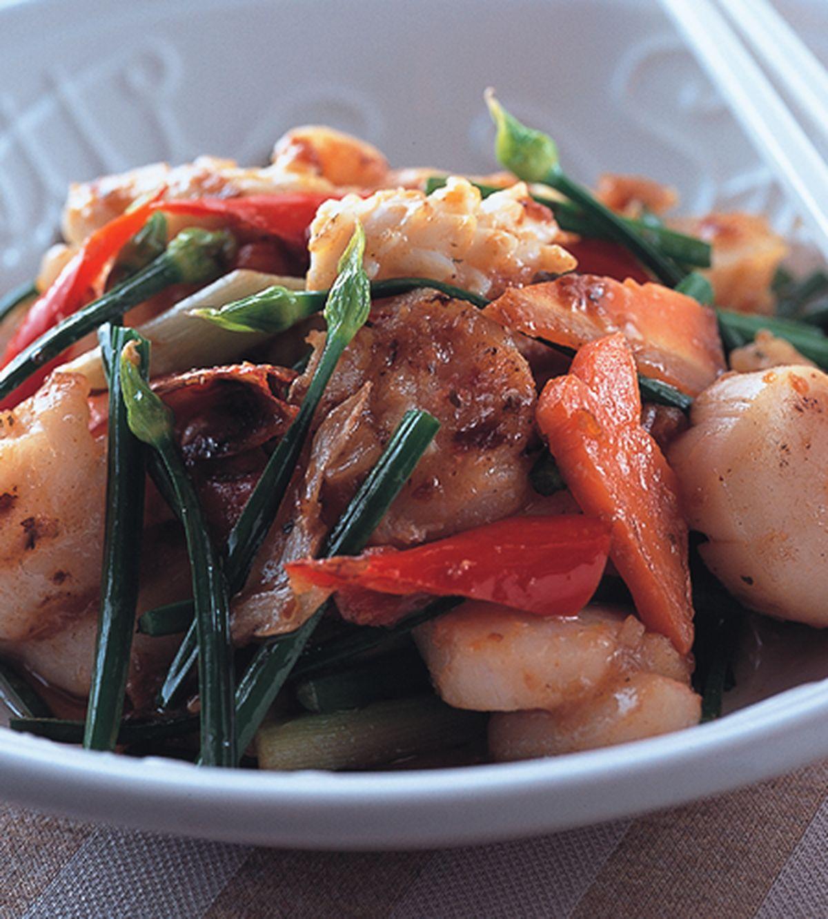 食譜:沙茶炒海鮮