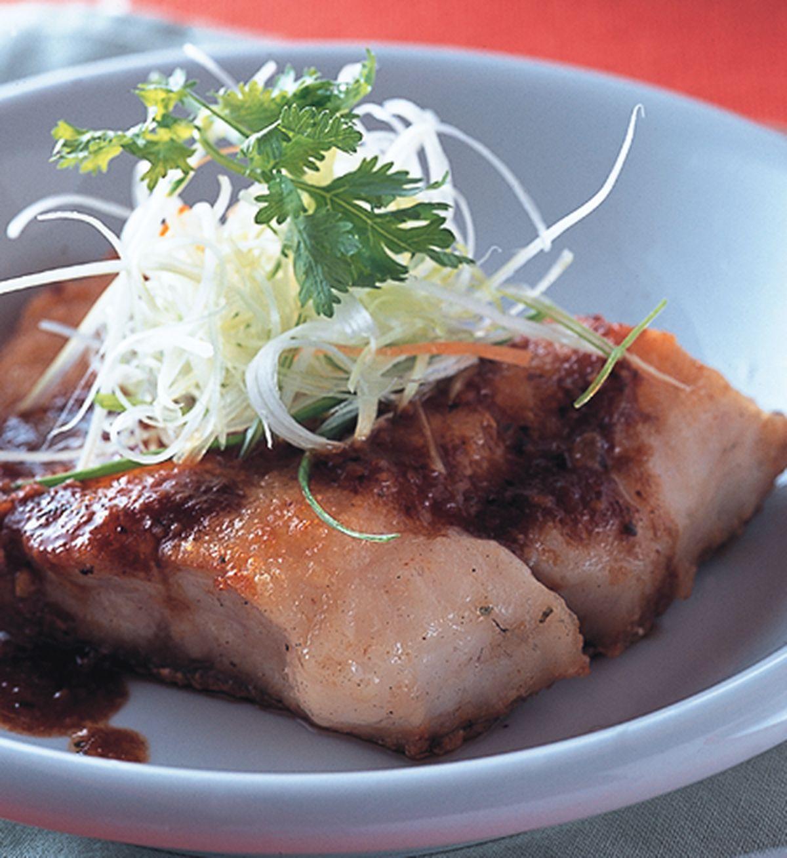 食譜:生煎沙茶魚