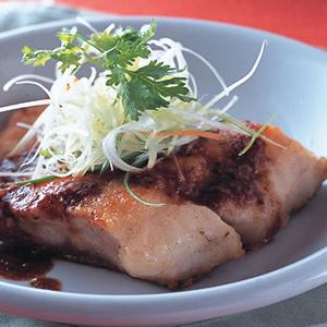 生煎沙茶魚