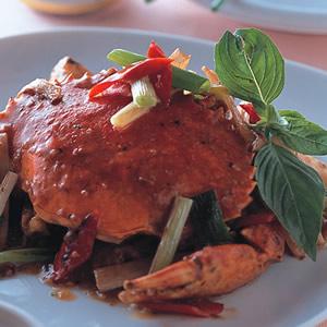 沙茶蔥薑蟹