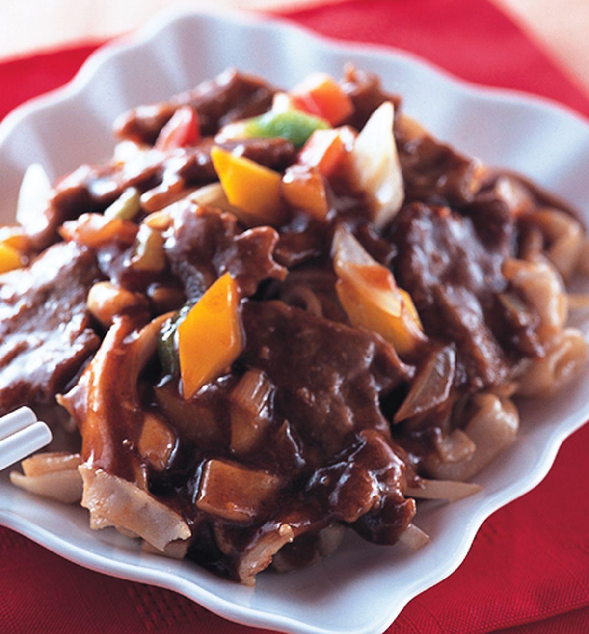 食譜:沙茶牛肉河粉(1)