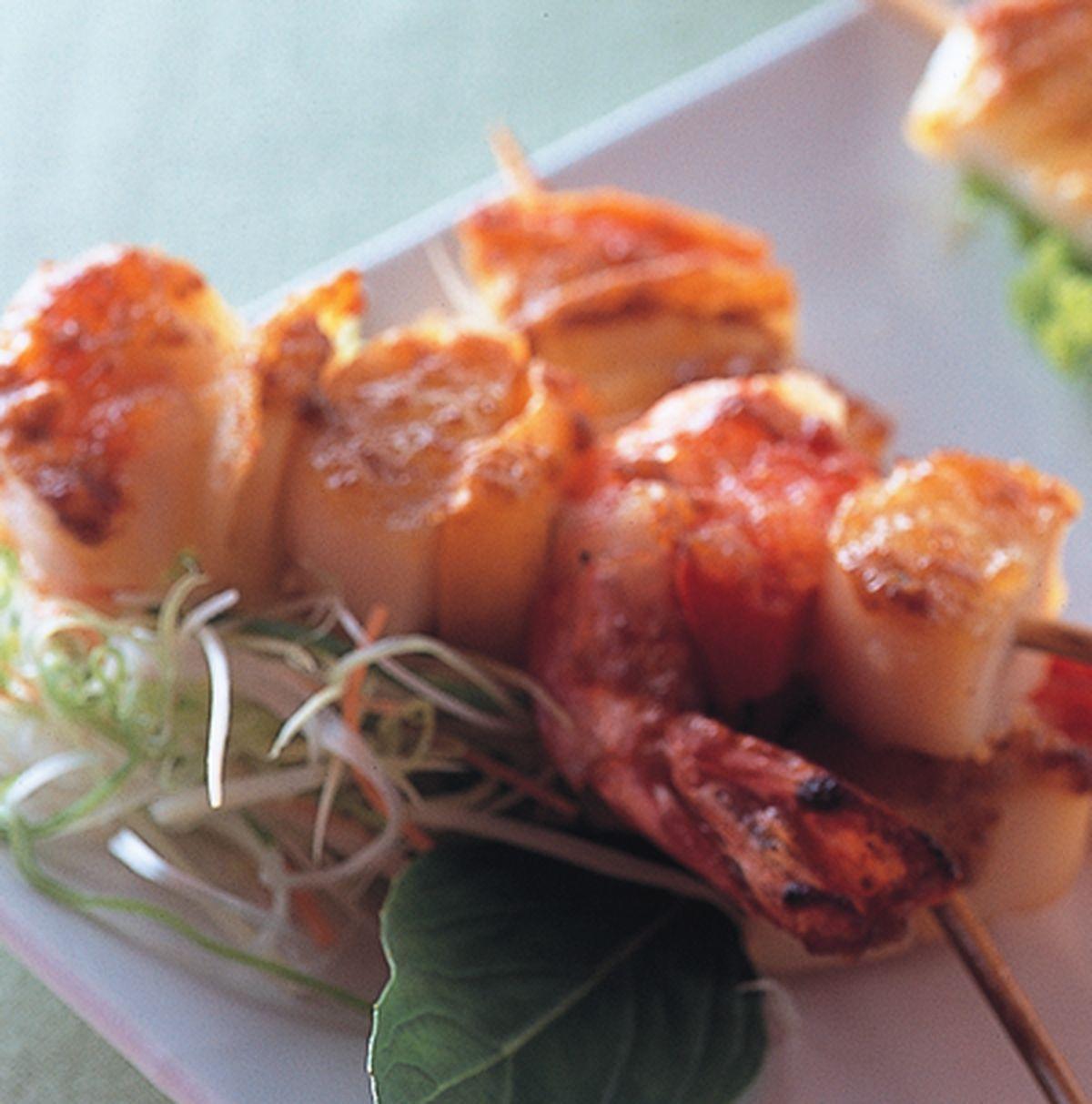 食譜:香烤海鮮串
