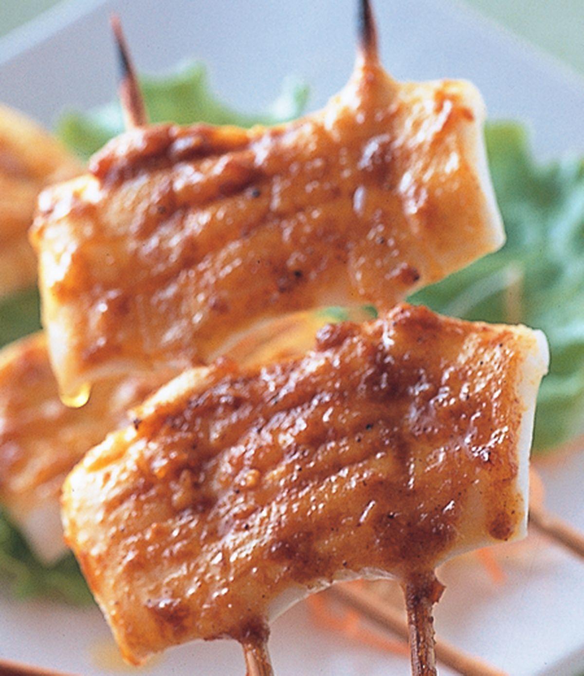 食譜:沙嗲烤魷魚