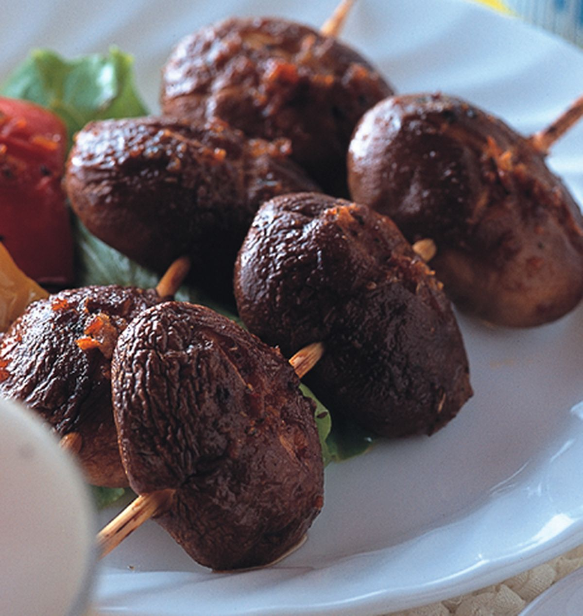 食譜:沙茶香菇串
