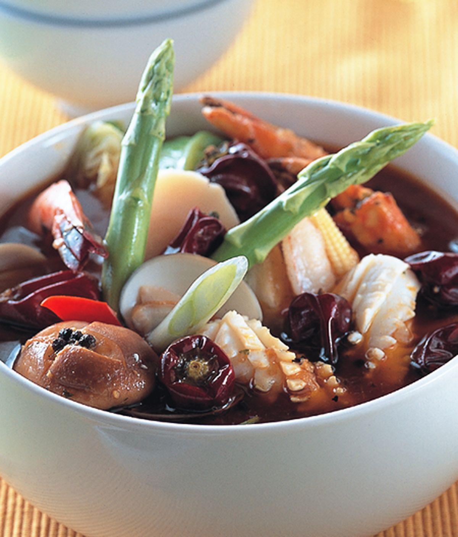 食譜:麻辣沙茶鍋