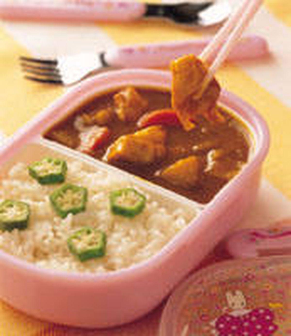 食譜:咖哩燴飯便當