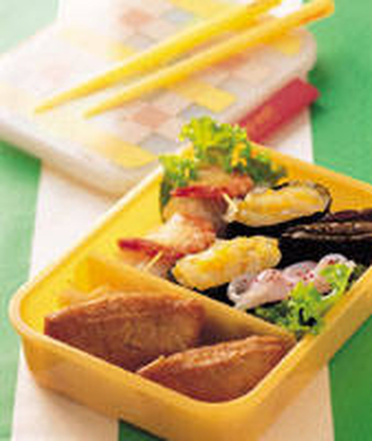 食譜:綜合壽司便當