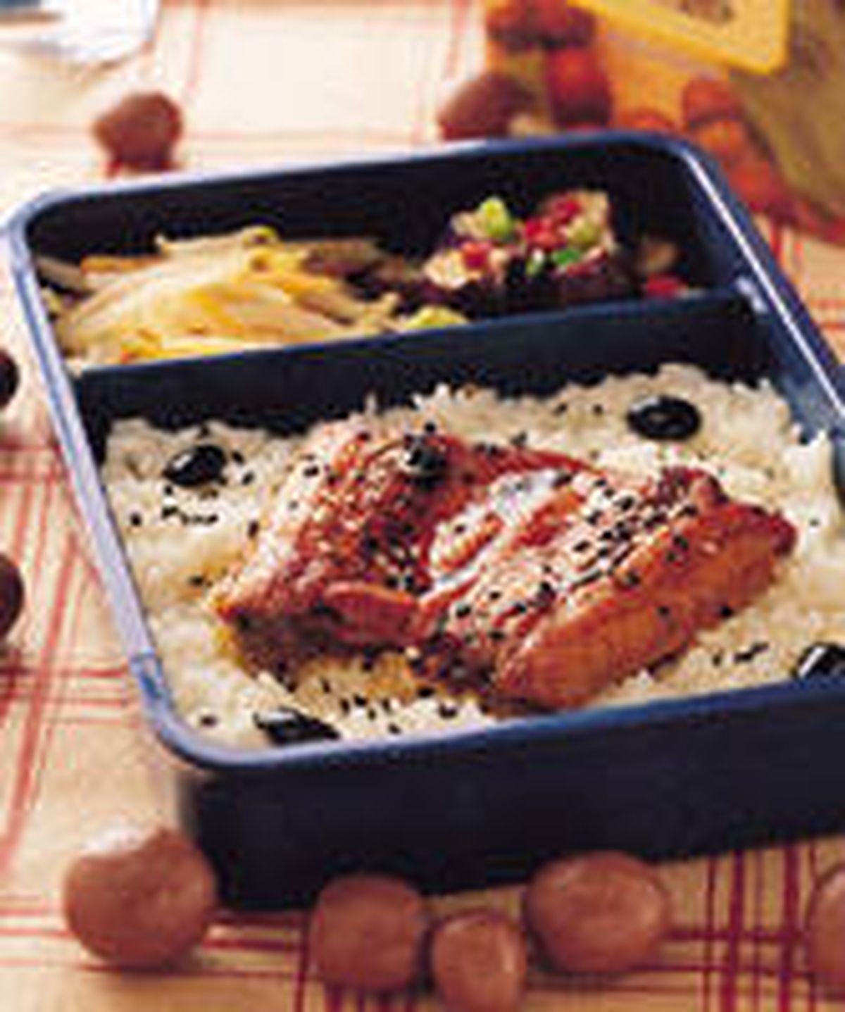 食譜:鰻魚飯便當