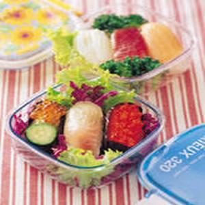 生魚片壽司便當