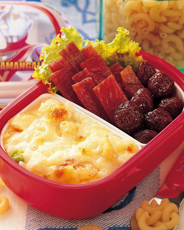 食譜:通心粉餐盒